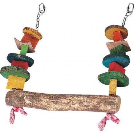 Papegaai speelgoed Kralenschommel