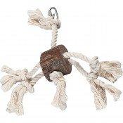 Papegaai speelgoed Hanger boomstam